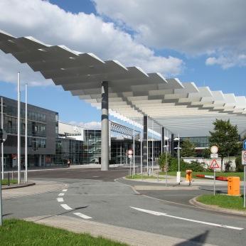 Messezentrum, NürnbergConvention Center, NCC Mitte, Eingangsbereich Mitte